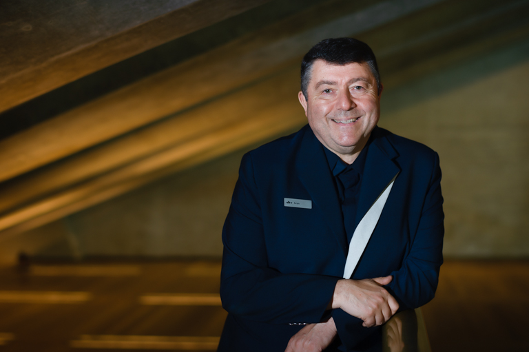Sydney Opera House Theatre Manager Ivan Ginovic